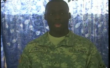 Pvt. Tarus Johnson