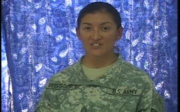 Staff Sgt. Yvonne Defosses