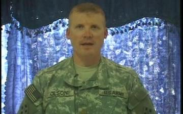 Maj. David Olson