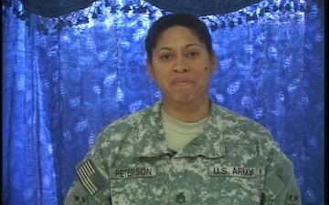 Staff Sgt. Corinne Peterson