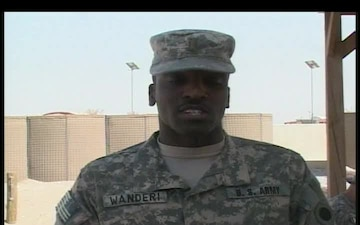 2nd Lt. Samuel Wanderi