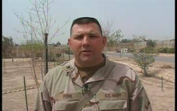Petty Officer 2nd Class Robert Pohl