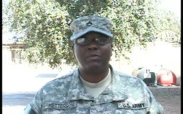 Staff Sgt. Rachelle Hetterson