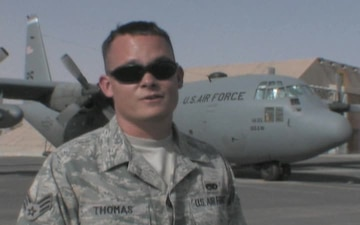 Senior Airman John Thomas