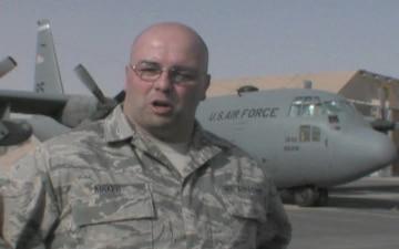 Senior Airman Allan Kirker