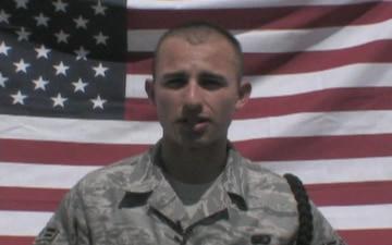 Airman 1st Class Julio Gieske