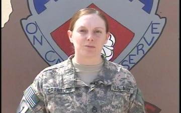 Staff Sgt. Katrina Crawford
