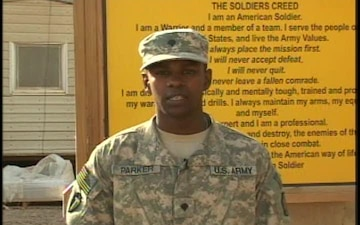 Spc. Percy Parker