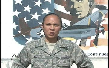 Staff Sgt. Mia Williams