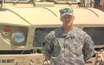 Command Sgt. Maj. John Montgomery