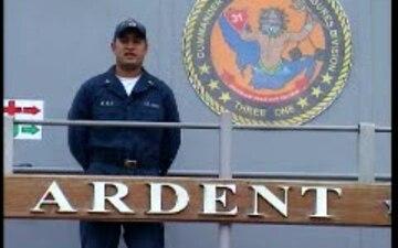 Petty Officer 2nd Class Deric Ayala