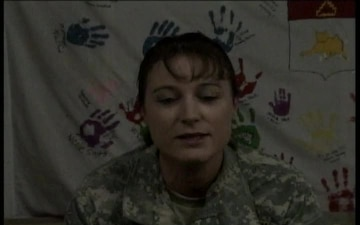 Pfc. Stacy Bergeson