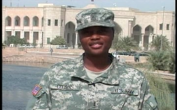 Chief Warrant Officer Ebony Cousins