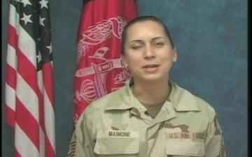 Master Sgt. Karen Maimone