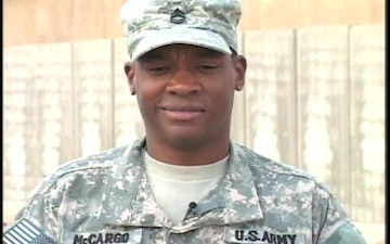 Sgt. 1st Class Kelly McCargo