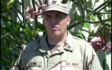 Petty Officer 1st Class Ed Flynn