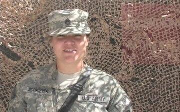 Staff Sgt. Rachel Schriever