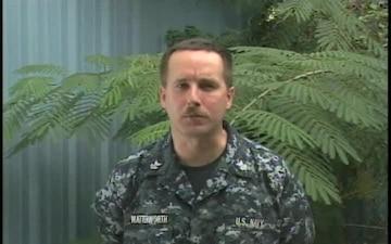 Petty Officer 1st Class Steve Watterworth
