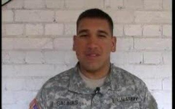 Pfc. Brandon Salinas