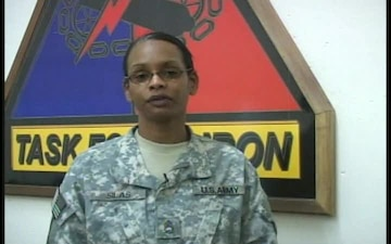 Sgt. 1st Class Sherrie Silas