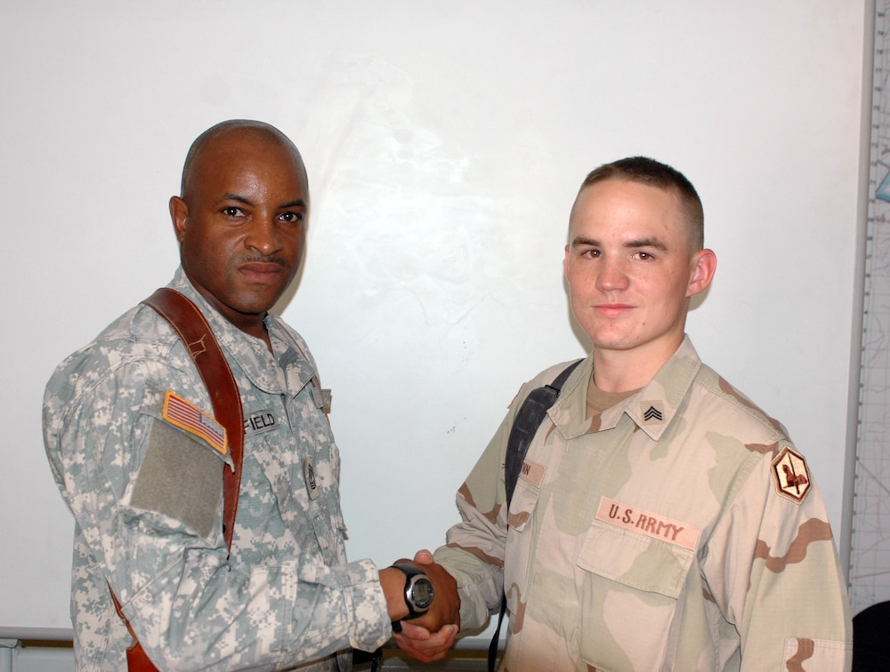 48th BCT NCO of the Quarter Sgt. Eric Lynn
