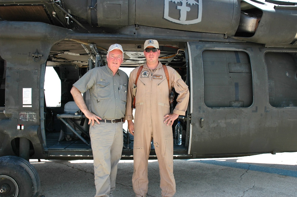 US Investigations Services Officer Flies Combat Missions in Iraq
