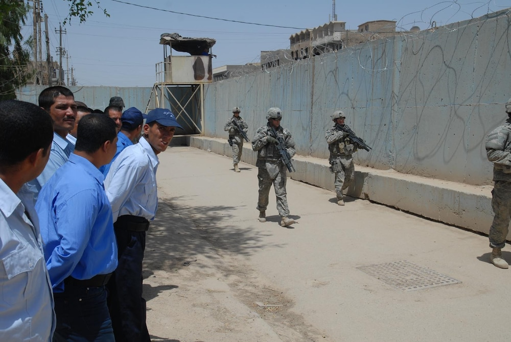 Iraqi police continue to train, prepare for future missions