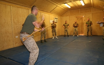 Naval Mobile Construction Battalion 27 Seabees attend Marine Corps Martial Arts Program Training