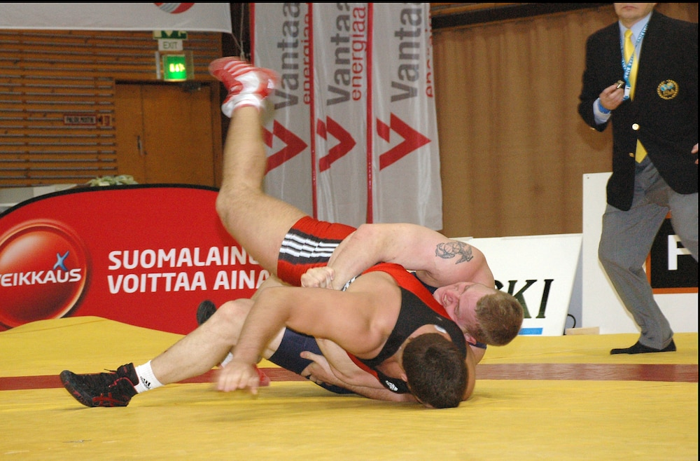 All Marine wrestlers at Vantaa Cup