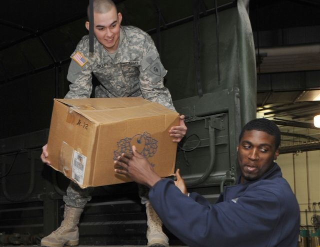 Pacers team up with the Indiana National Guard