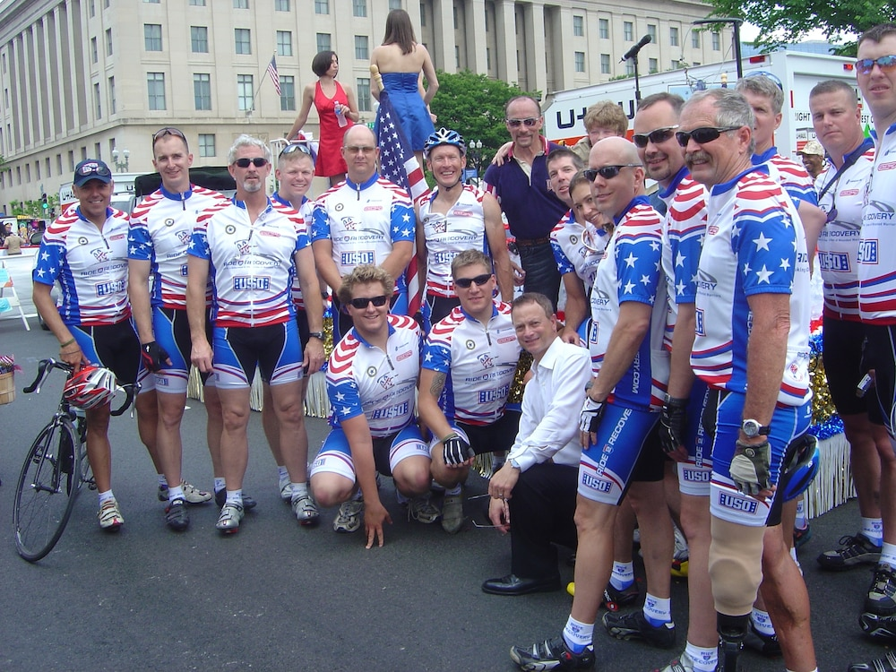 Wounded Warriors Participate in Virginia's 'Ride 2 Recovery'