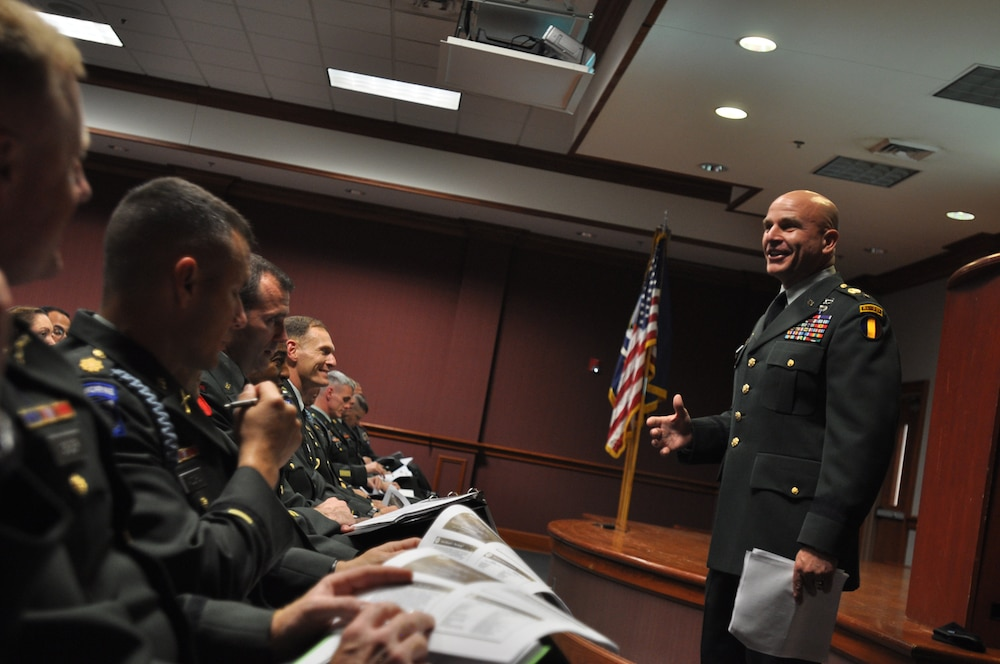 Visit from Brig. Gen. kicks off distinguished lecturer series