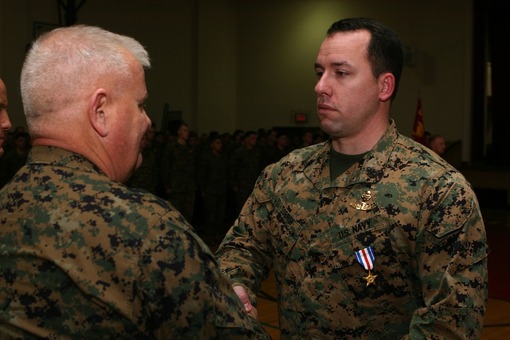 MARSOC Corpsman Receives Silver Star Medal for Heroics in Afghanistan