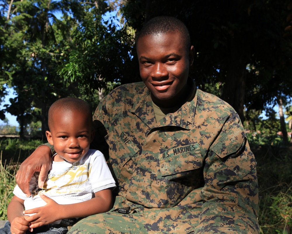 Marine assist family and native country