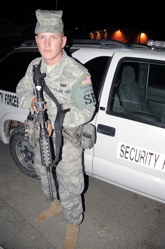 Elmendorf Airman, Plant City Native, Supports Security Forces Efforts in Southwest Asia