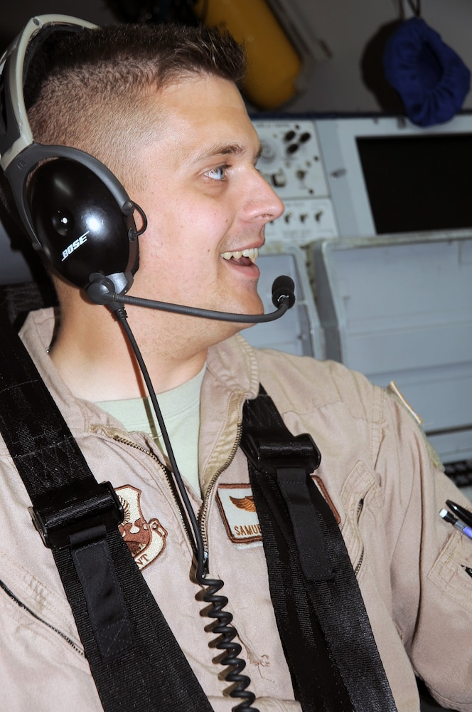 Tinker Captain, Bethlehem Native, Serves As Air Weapons Officer on AWACS Combat Air Missions in Southwest Asia