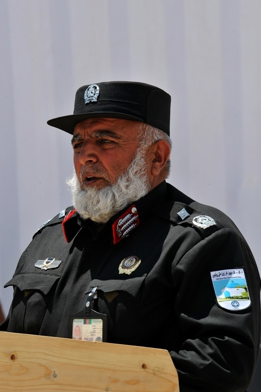Afghan National Police Opening Ceremony at Forward Operating Base Ghazni