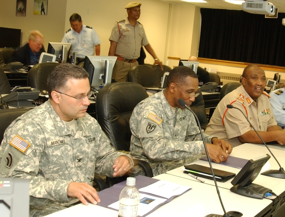 New York National Guard Hosts South African Defense Force Chief