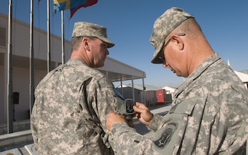 1-101 FA Earns Combat Patch