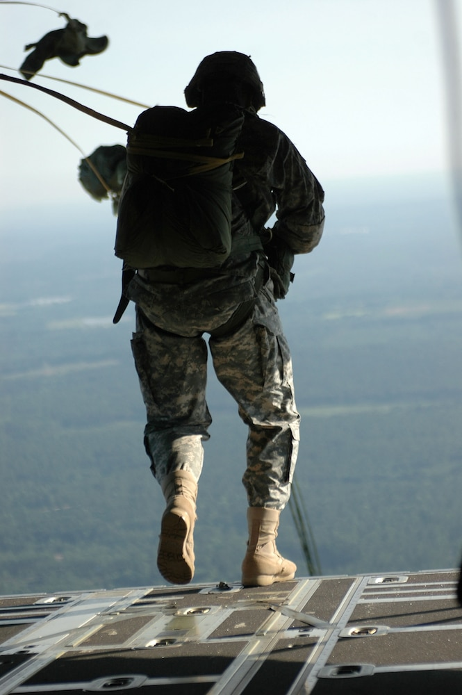 Tailgating in the Sky: Paratroopers Jump for Joy