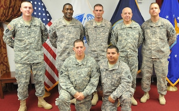 72nd Infantry Brigade Combat Team Soldiers Extend Their Contracts in Fort Bliss