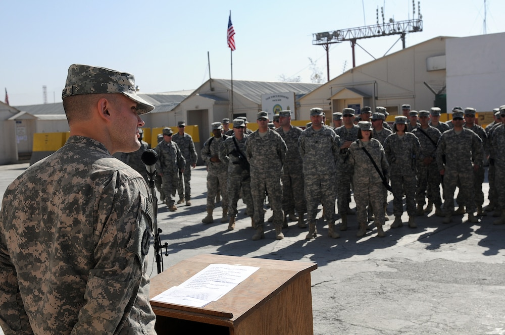 SD Soldiers serving in Afghanistan honor past veterans