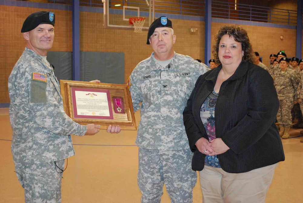 Guard Leader Retires With More than 30 Years of Service