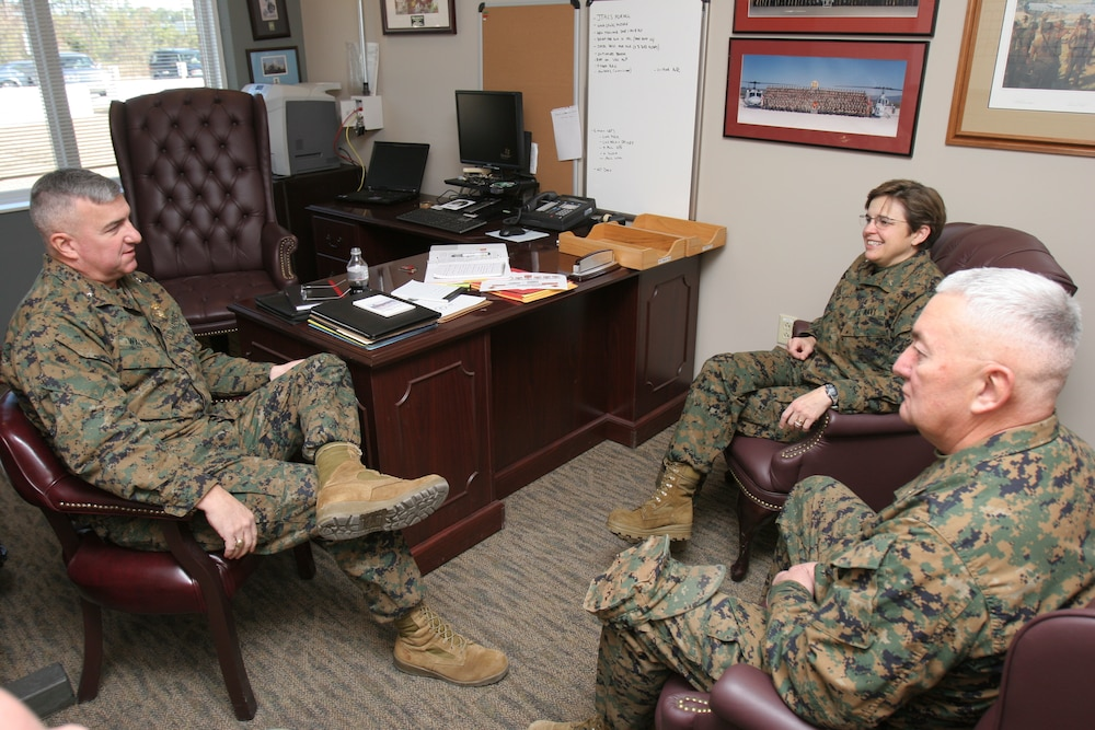 Top chaplain visits MCAS Cherry Point