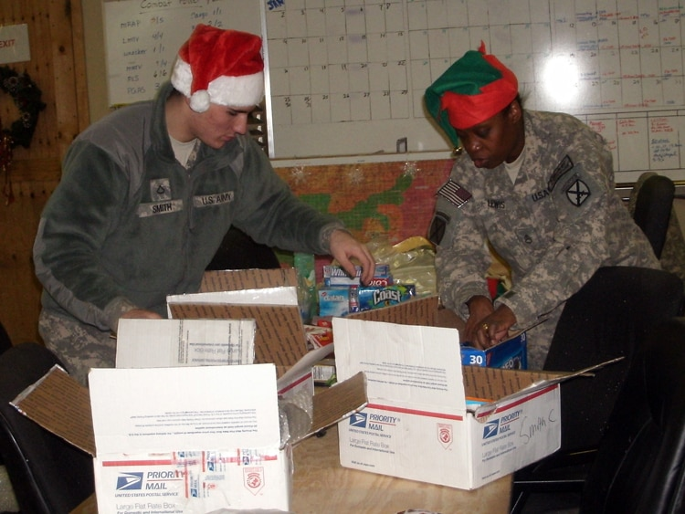 Soldier, family sends care packages to troops in remote locations