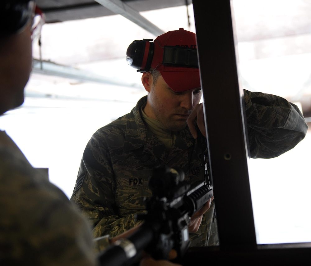 Combat arms training and maintenance instructors prepare Airmen for deployment