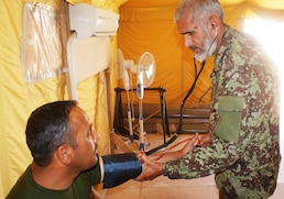 Medical facility enables Afghans to help Afghans