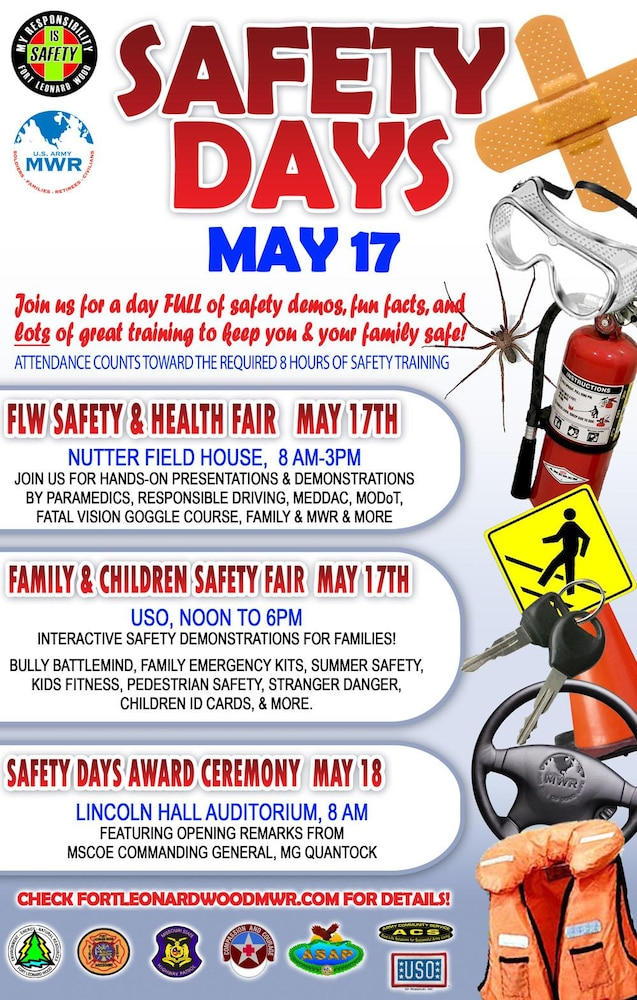 Annual safety and health fair at FLW