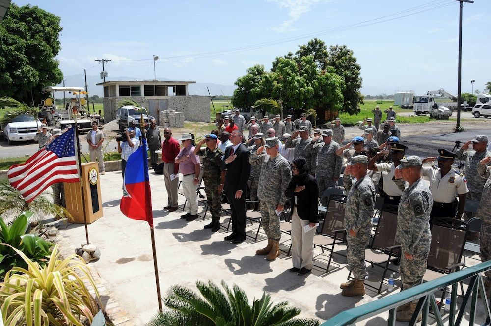 Task Force Bon Voizen closes relief operations in Haiti