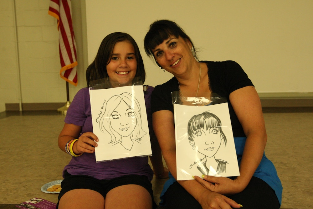 Service members, families expose artistic talent